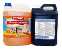 Peróxido Hidrogênio Limpa Piscina+ Limpa Chapas Desengordura - Equimica