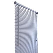 Persiana de PVC Primafer, 0,80 x 1,60 metros, Cinza -