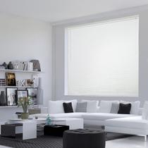 Persiana Horizontal PVC Premier - 1,00x2,20m - Branca - Evolux
