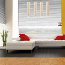 Persiana Horizontal PVC Premier - 1,00x2,20m - Chumbo - Evolux