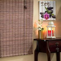 Persiana Rolo de Bambu 0,80L X 1,60A - Everblinds