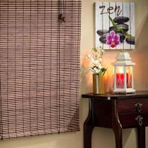 Persiana Rolo de Bambu 1,20L x 1,60A - Everblinds