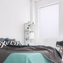 Persiana Vertical Renoir - 2,20X2,40M - PVC Branca - Evolux