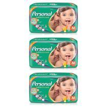 Personal Baby Fralda Jumbo M C/32  (Kit C/03) -