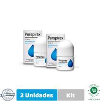 Perspirex Kit Com 2 Desodorante Antiperspirante Roll On 20ml -