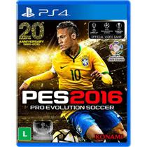 PES 2016 - Pro Evolution Soccer - PS4 - Konami