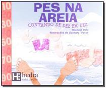 Pes na areia: contando de dez em dez - colecao mat - Hedra