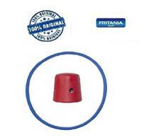 Peso Panela Pressão Vermelho+ Borracha Clock Antig 4,5l 6656 - Fritania