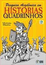 pesquisa academica em historias em quadrinhos - Criativo -