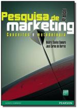 Pesquisa de marketing: conceitos e metodologia - Pearson
