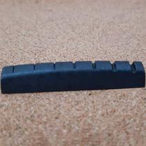 Pestana Nut Preta Guitarra 7 Cordas 48mm Dolphin Pps Grafite Preto Cód. 13543 -
