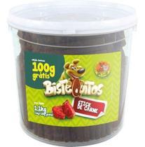 Petisco Bifinho Carne Bistequitos Balde 1kg - Petitos