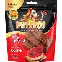 Petisco bifinho petitos carne 500gr -