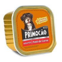 Petisco Cão Úmido Primocao Adulto Patê carne 300g - Primocão