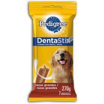 Petisco Dentastix Para Cães Adultos Raças Grandes - 7 Unidades - Pedigree
