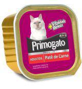 Petisco Gatos  Úmido Primogato Carne Patê 150g -