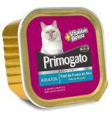 Petisco Gatos  Úmido Primogato  FRUTOS DO MAR Patê 150g -