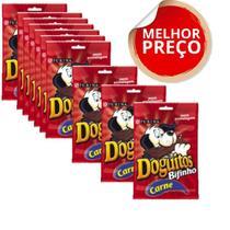 Petisco Nestlé Purina Doguitos Bifinho De Carne Para Cães - 65 G combo c/10 unidades -
