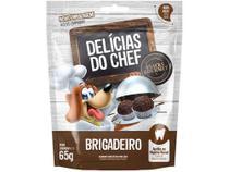 Petisco para Cachorro Adulto Petitos - Delícias do Chef Brigadeiro 65g -