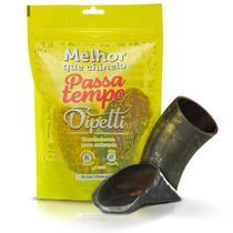 Petisco passa tempo chifre e casco pequeno dipetti  - kit 2 un p/ cães -