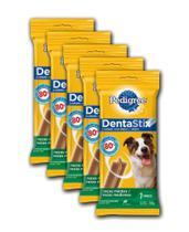Petisco Pedigree Dentastix - Cães Adultos Raças Médias - 180g - 7 Pcs -