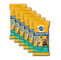 Petisco Pedigree Dentastix - Cães Adultos Raças Pequenas - 45g - 6 Pcs -