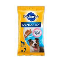Petisco Pedigree Dentastix Cuidado Oral Para Cães Adultos Raças Médias 3 Unidades - 7 unidades -