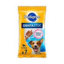 Petisco Pedigree Dentastix Cuidado Oral Para Cães Adultos Raças Pequenas - 3 unidades -