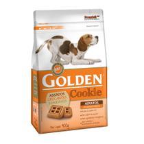 Petiscos Cookie p/ Cães Adultos Mini Bits 400gr - Golden