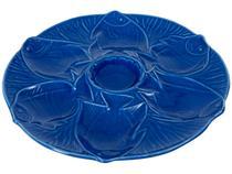 Petisqueira Redonda Cerâmica Scalla Aquarius -