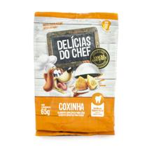 Petitos Delícias Do Chef - Snacks Gourmet Para Cães - Coxinha - 65g - 65g -