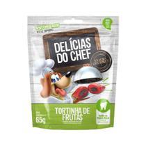 Petitos Delícias Do Chef - Snacks Gourmet Para Cães - Sabor Tortinha De Frutas - 65g - 65g -