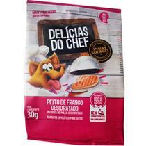 Petitos Delícias Do Chef - Snacks Gourmet Para Gatos - Peito De Frango Desidratado - 30g - 30g -
