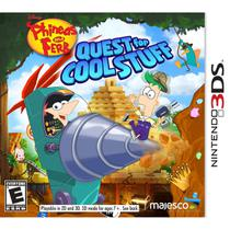 Phineas And Ferb Quest For Cool Stuff - 3Ds - Nintendo