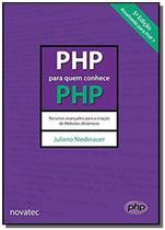 Php para quem conhece php - Novatec -