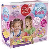 Pia de Brinquedo que Lava Louça de Verdade Acqua Brink - X plast
