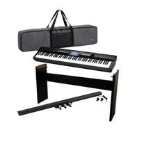 4202dfb4a80 PIANO DIGITAL CASIO PX-360MBK PRIVIA 88 TECLAS   Estante Casio CS67   Pedal  de