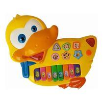 Piano Duck Pato Teclado Musical Infantil - King