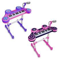Piano Eletrônico Primeiro Grande Show Infantil Feminino - Unik