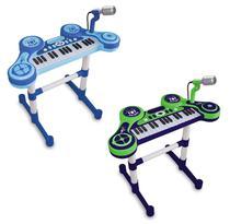 Piano Eletrônico Primeiro Grande Show Infantil Masculino - Unik