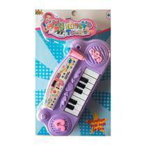 Piano Infantil Musical Educativo Lilas - Fx