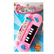 Piano Infantil Musical Educativo Rosa - Fx