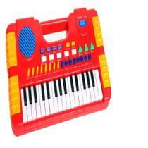 Piano Infantil Teclado Musical 31 Teclas 8 Sons Funcao Gravador Sintetizador - MAKEDA