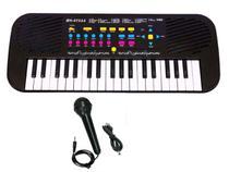 Piano Infantil Teclado Musical Instrumentos Com Microfone - Dm Brasil