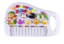 Piano Infantil Teclado Para Bebe E Criança Com Som Dos Bicho - Emporio Magazine