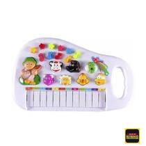 Piano Infantil Teclado Para Criança Com Som Dos Animais bebê - Borny