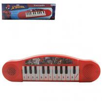 Piano Musical Homem Aranha a Pilha 31cm Spiderman - 133612 - Etilux