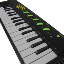 Piano Teclado Infantil Brinquedo Crianca Microfone Cantar Karaoke - Toys