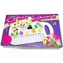 Piano Teclado Musical Bichos Infantil Sons Eletrônico - Toys