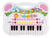 Piano Teclado Musical Fazendinha Animal Infantil Bebê - Braskit